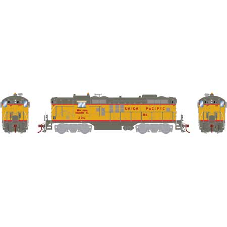 Athearn G64243 HO Union Pacific GP9 with DCC & Sound #206