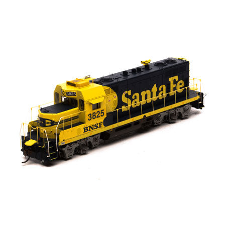 Athearn G65143 HO Burlington Northern Santa Fe GP7u with DCC & Sound #3825
