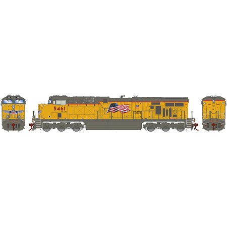 Athearn G69798 HO Union Pacific ES44AC with DCC & Sound w/PTC #5461