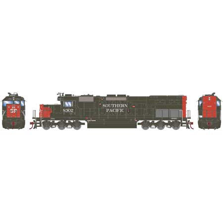 Athearn 86797 HO Southern Pacific RTR SD40T-2 with DCC & Sound #8302