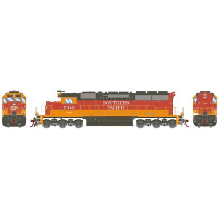 Athearn 86818 HO Southern Paicifc RTR SD40 with DCC & Sound #7342