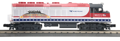 MTH 30-20470-1 O-27 Amtrak F40 with PS3 #90221
