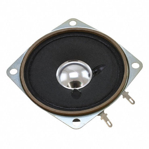 "Phoenix Sound 824-660 Speaker: 2.5"" Square, 8 Ohms, 4 Ears, Ferrite Magnet"
