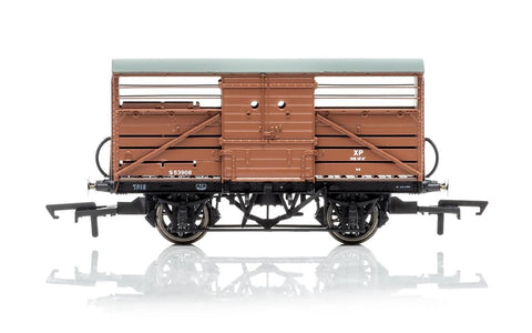 Hornby R6839A OO British Railways Diagram 1529 Cattle Wagon #S53908
