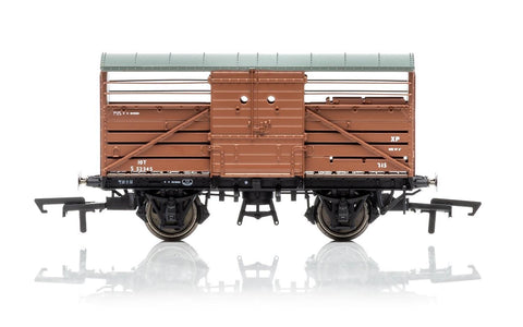 Hornby R6840 OO British Railways Diagram 1530 Cattle Wagon #S52345