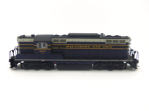 Walthers 920-42103 HO Baltimore & Ohio EMD GP7 Diesel Loco Sound/DCC #3403