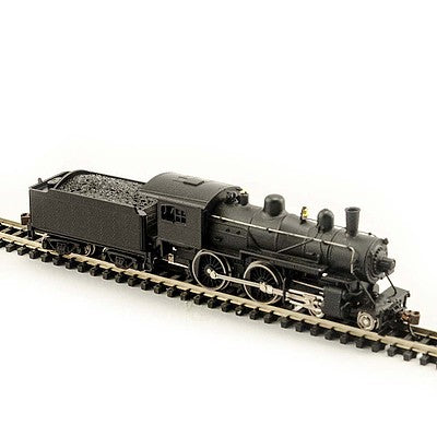 Model Power 87620 N Undecorated 4-4-0 American Steam Locomotive - DCC Ready