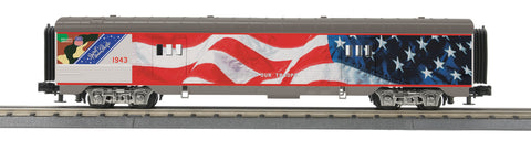 MTH 30-68039 O Union Pacific 60' Streamlined Baggage Car #1943