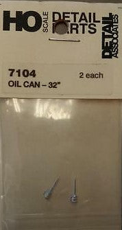 "Detail Associates 7104 HO 32"" Oil Can (Pack of 2)"