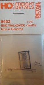 Detail Associates 6432 HO End Walkover Waffle Type with Handrail
