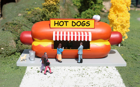 Bachmann 35306 O  Built-Up Hot Dog Stand