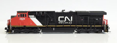 Fox Valley Models 70243 N Canadian National ES44AC GEVO Standard DC Diesel Locomotive #2829
