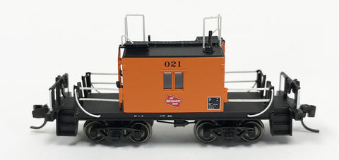 Fox Valley Models 91168 N Milwaukee Road Transfer Caboose #021