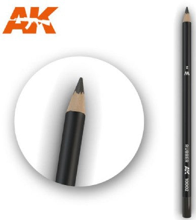 AK Interactive 10002 Weathering Pencils: Rubber (Pack of 5)