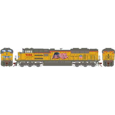 Athearn G89633 HO Union Pacific SD70ACe Diesel Locomotive #9088