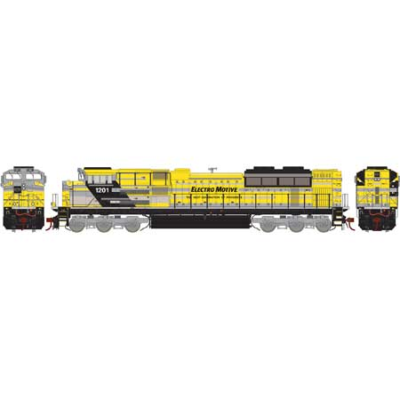 Athearn G89835 HO EMD Lease SD70ACe Diesel Locomotive with DCC and Sound #1201