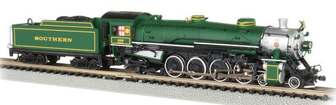 Bachmann 53451 N Southern 4-8-2 Light Mountain Steam Locomotive DCC/Sound #1489
