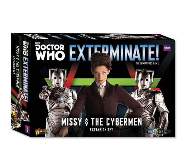 Warlord Games 602010102 Dr. Who: Missy & The Cybermen Expansion Set