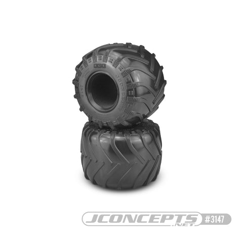 Jconcepts 3147-01 Monster Truck Tire Blue Compound