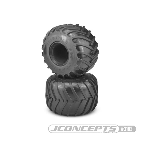 Jconcepts 3183-05 Golden Years: Monster Truck Tire Gold Compound