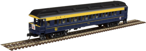 Atlas 50004246 N Central Railroad of New Jersey ACF® 60' Observation Car#1178