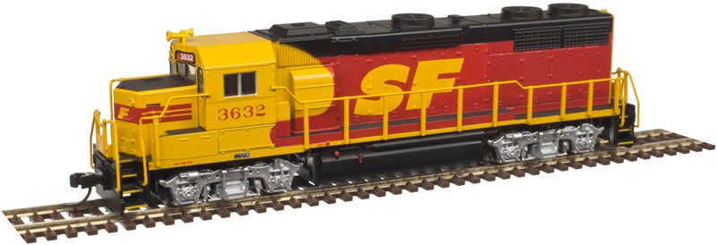 Atlas 40003845 N Santa Fe Kodachrome GP39-2 Diesel Locomotive #3632