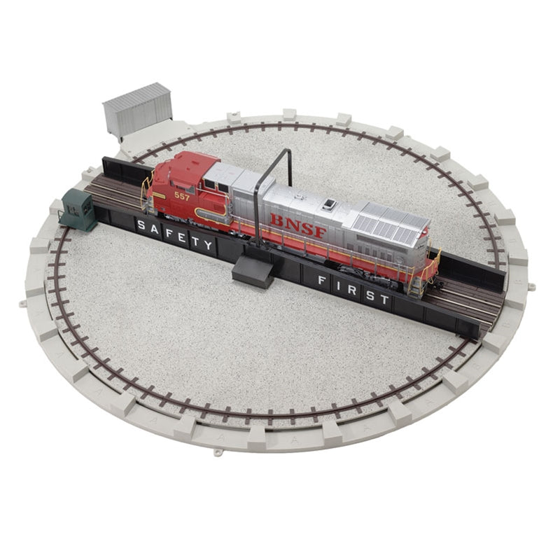 "Atlas 6999 O 24"" Motorized 3-Rail & 2-Rail Turntable Kit"