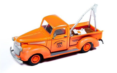Classic Metal Works 30549 HO 1941-1946 Chevrolet Wrecker Tow Truck - Philips 66