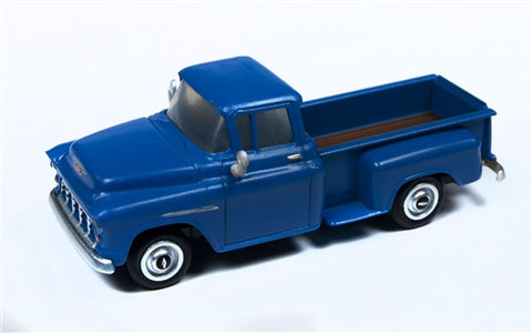 Classic Metal Works 30557 HO 1955 Chevrolet Mariner Blue Pickup