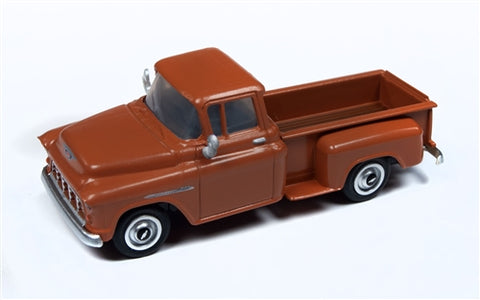 Classic Metal Works 30558 HO 1955 Chevrolet Autumn Brown Pickup