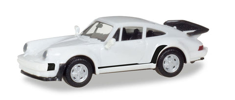 Herpa 013307 HO MiniKit - Porsche 911 Turbo in White