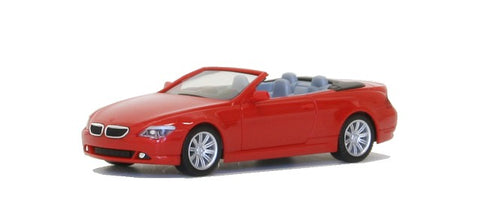 Herpa 023245 HO BMW 6 Series Convertible