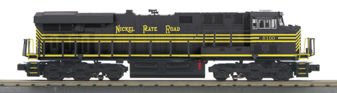 MTH 30-20572-1 O-27 Nickel Plate Road Imperial ES44AC with PS3 #8100