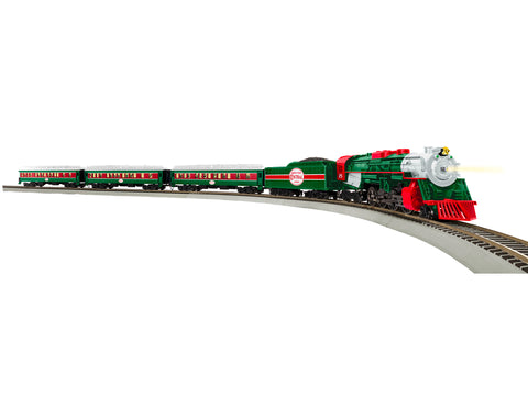 Lionel 87-1811020 HO Christmas Express 2-8-4 Set with Bluetooth (Set of 4)