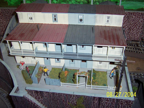 Lehigh Valley Models LVM 24 S Row Houses Building Kit