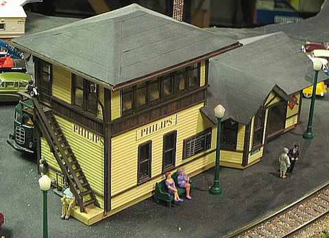 Lehigh Valley Models LVM 31 S Combination Tower-Station Building Kit