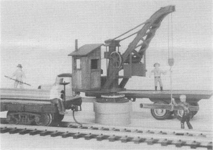 Lehigh Valley Models LVM 20 S Brownhoist Pillar Crane
