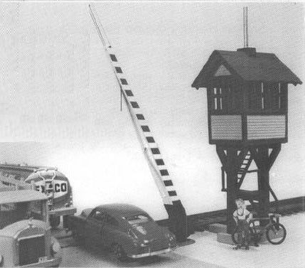 Lehigh Valley Models LVM 19 S Elevated Gate Crossing Shanty
