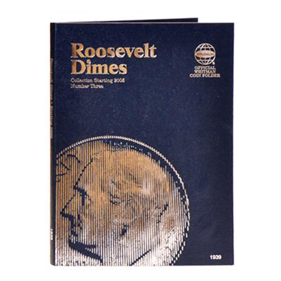 Whitman 9397 Roosevelt Dimes Collection Starting 2005 Folder