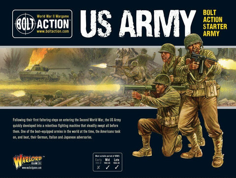 Warlord Games 409913016 Bolt Action Starter Army US Army
