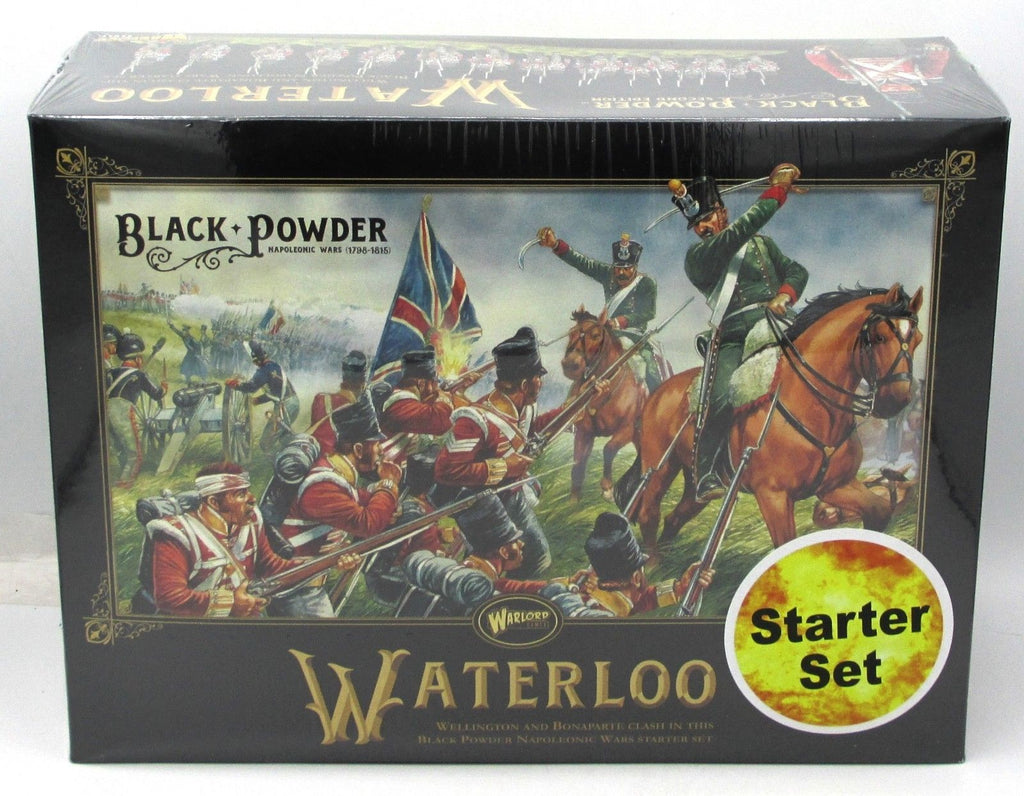 Warlord Games 301510002 Black Powder Second Edition Waterloo Starter Set