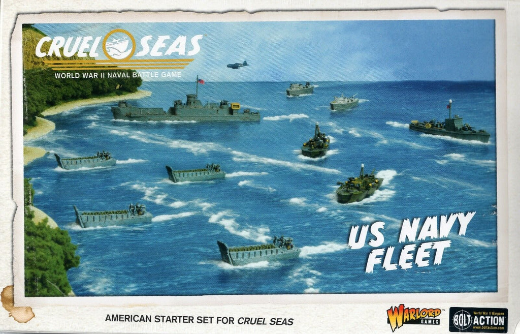 Warlord Games 782611002 CRUEL SEAS US NAVY FLEET