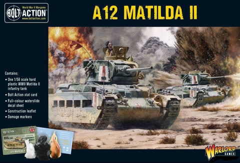 Warlord Games 402011019 Bolt Action A12 Matilda II Infantry Tank