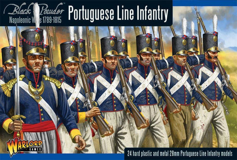Warlord Games WGN-PO-01 Black Powder Portuguese Line Infantry