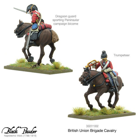 Warlord Games 302011002 BLACK POWDER BRITISH UNION BRIGADE CAVALRY