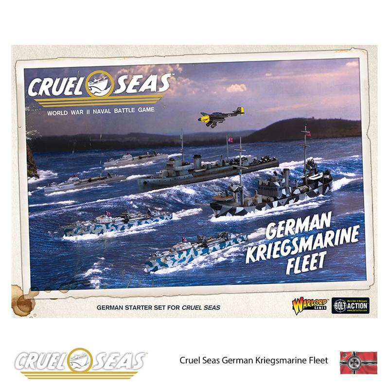 Warlord Games 782612001 Cruel Seas German Kriegsmarine Fleet