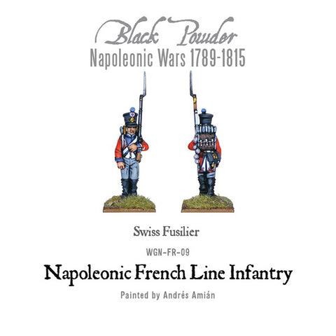 Warlord Games WGN-FR-09 Black Powder Napoleonic French Line Infantry