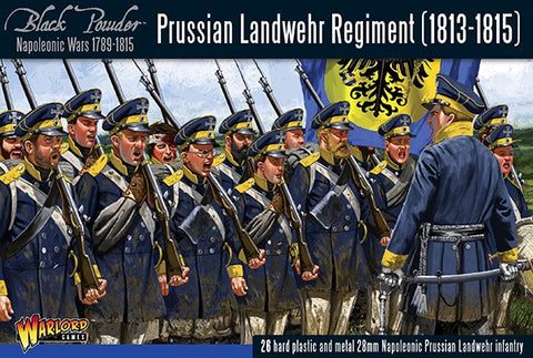 Warlord Games 302012501 Black Powder Prussian Landwehr Regiment (1813-1815)