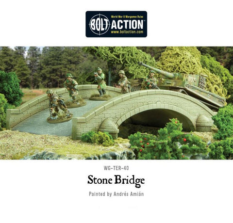 Warlord Games WG-TER-40 Bolt Action Stone Bridge