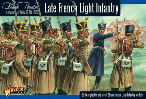 Warlord Games 302012001 BLACK POWDER LATE FRENCH LIGHT INFANTRY